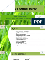 SukumaranNair - India's Fertilizer Market