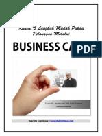 5 Langkah Mudah Pukau Pelanggan Melalui Business Card