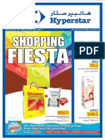 Shopping Fiesta Leaflet 2017