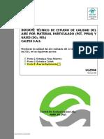 Estudio de calidad del aire Puerto Triunfo Antioquia