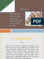 PPT Geomorfologi KLP 1