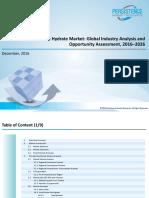 Report Sample_Global Fine Hydrate Market_2016-2026