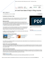 Form 26AS_ What is It and How Does It Help in Filing Income Tax Return_ - The Economic Times