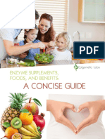 Enzyme Supplements Foods Benefits Concise Guide Epigenetic Labs