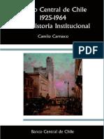 Banco Central de Chile 1925-1964%2C Una Historia Institucional
