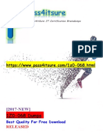 New Pass4itsure 1Z0-068 Dumps - Oracle Database 12c