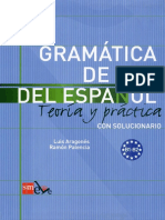 Gramática de Uso Del Espanol B1-B2