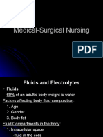 Med Surg Lecture-1