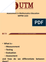 What is Measurement, Testing, Evaluation and Assessment Sem II Sesi 2016-2017 (1).pptx