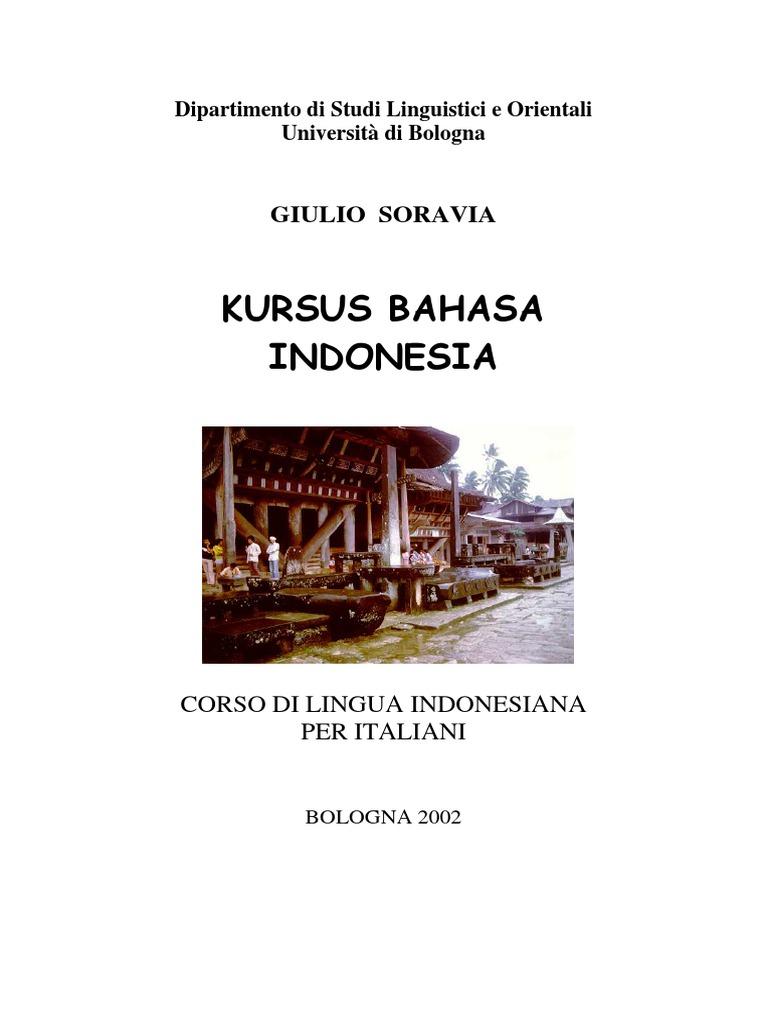 Giulio Soravia Corso Di Lingua Indonesiana