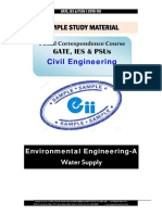 Gate Ies Postal Studymaterial for Environmental-A Water Supply Civil