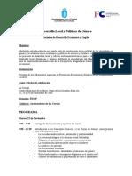 8 Programa Desarrollo Local y Género