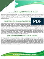 Real 1z0-960 Dumps - 1Z0-960 Oracle Financials Cloud Exam