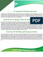 70-764 Exam Dumps - Microsoft Certified Professional PDF