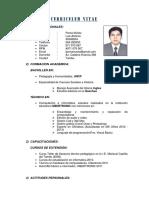 Curriculum Luis Poma 2016