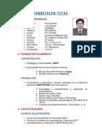 Curriculum - Luis Poma