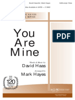 You Are Mine Mark Hanes