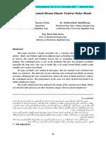 Design of a Constant Stress Steam Turbine Rotor Blade.pdf