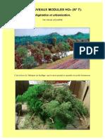 «DE NOUVEAUX MODULES HO» (N° 7). Végétation et urbanisation. Par H. Leclere