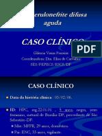 Glomerulonefrite Caso Clinico