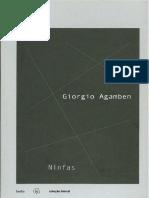 AGAMBEN - Ninfas (português)