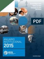 Anuario Institucional IECS Argentina - 2015 (castellano)