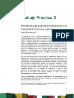 Trabajo Práctico Nº 3. Mercosur Las Nuevas Instituciones OK