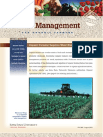 Organic. Weed Management for Organic Farmers