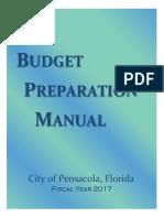 FY17 Budget Prep Manual