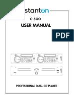 c500 Manual