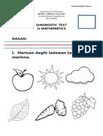 Diagnostic Test Kinder