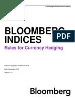 AusBond Currency Hedging Methodology