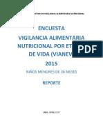 Minsa Ins - Reporte Encuesta Vianev 2015