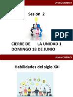 Sesion 2 Innovación 16 de Junio 2017