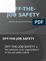 Grp 3 Off-The-job Safety
