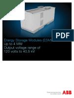 Energy Storage Modules Brochure Rev E