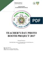 Teachers Day Booth