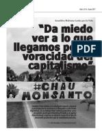 Leandro Juárez Liberatori. Entevista, Revista El Cactus (FCC)