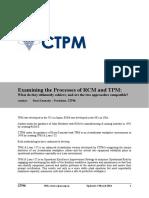 20140303 Examining RCM vs TPM