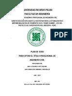 Plan de Tesis Nanotecnologia Aplicada a La Geotecnia Para La Estabilización e Impermeabilización de Pavimentos en El Tramo Huambo -Ayo Del PCVAP[1]