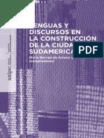 Lenguas y Discursos en La Construccion de La Ciudadania Sudamericana