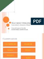 Macchine Operatrici