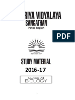 Biology XII Support Material 2016-17