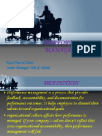 Performance Mgt. Module