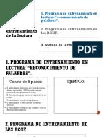 Programas de Entrenamiento de La Lectura-1