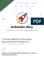 Downloader scribd ebook