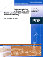 Evaluation of Radiometers in Full- Time Use at the National Renewable Energy Laboratory Solar Radiation Research Laboratory