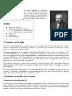 Fenómeno - Wikipedia, La Enciclopedia Libre