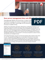 Save server management time and effort for IT staff