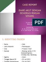 Case Report Diare Ppt